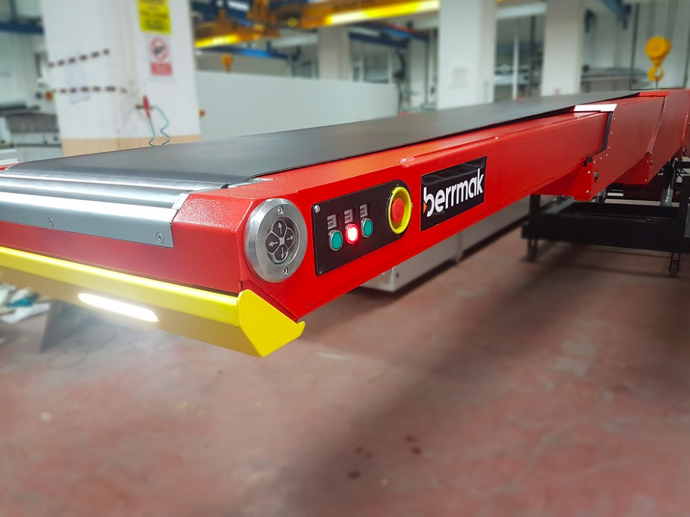 Telescopic conveyors Berrmak
