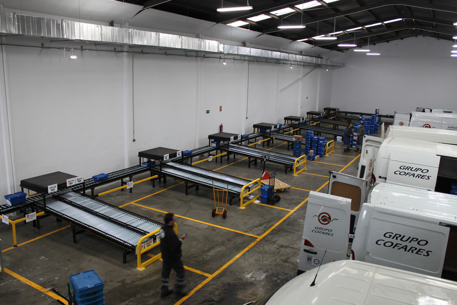 Grupo Cofares trust again in Modumaq to automate its new distribution center