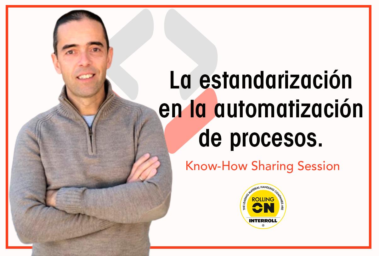 Alfonso Flores estrena la primera sesión Know-How de Rolling On Interroll compartiendo su experiencia empresarial